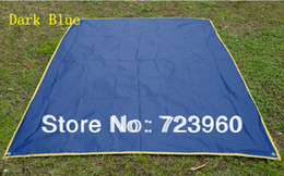 Wholesale Sale Plus size outdoor picnic blanket waterproof foldable beach camping tent mat moisture proof pad mats rugs oxford fabric tarp