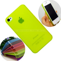 Wholesale 1Pcs Perfect Design Transparent Cover Case For iPhone4 S iPhone4S G cover mm China Post PSN S SND WOIEN