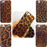 For Apple iPhone Plastic Case New Fashion Leopard Prints Hard Back Cases For iPhone 4 4S Case Cover For iphone4 4G Protection Shell --AEHED-04-05