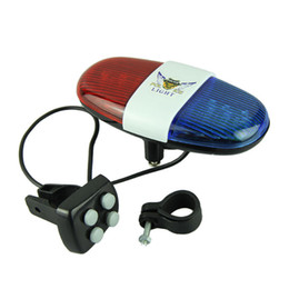Wholesale Bike Bicycle Police Car LED Light Sounds Trumpet Cycling Horn Bell
