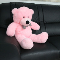 Wholesale Beautiful Brown Cute Cotton White Sleeping Big Plush Teddy Bear Baby Kid Doll Toy irthday Christmas