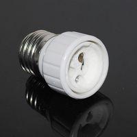 Plastic adapter e27 to gu10 - HOT E27 TO GU10 lamp holder adapter converter White Bulb Base Converter LED Light Lamp Adapter Screw Socket