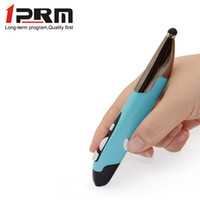 Wholesale New Touch Screen Capacity GHz Wireless Internet Surfing Browsing Pen Mouse w Stylus Pen Point Red Golden