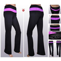 Wholesale Lulu lemon Pants Top Quality Womans Trousers Yoga Pants Womens Lululemon Pants Striped Yoga Clothing Dance Trousers in Size XS XL