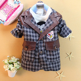 Wholesale New Spring Autumn coats and jackets children coats kid outerwear baby boy cardigan pieces