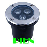 Wholesale 3W LED underground light IP68 Buried recessed floor outdoor lamp DC12V or AC85 V CE ROHS by DHL