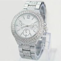 big diamond jewelry - New Model Fashion Women Watch With Diamond Stainless Steel Luxury Lady Big Wristwatch Famous Brand Wristwatch High Quality