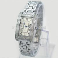 achat en gros de montres pour femmes de la mode or-Montre de luxe de mode homme montre de luxe avec diamant d'or / or rose amoureux de montre boîte de haute qualité Livraison gratuite