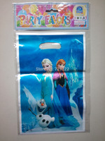 April Fool's Day Event & Party Supplies,Other Festive & P Blue Frozen movie Elsa Anna kid boy girl baby happy birthday party decoration supplies favors frozen candy gift loot bags 12 people