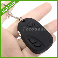 Wholesale Mini Camcorders Car Key Chain Spy Camera High definition video with voice Hidden camera Video Recorder Camcorder