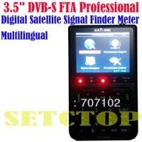 Wholesale SATlink WS quot DVB S FTA Professional Digital Satellite Signal Finder Meter