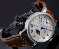 Sport whites gmt - Details about mm Parnis embossment white Dial GMT hand winding mens watch roman number A