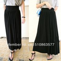 Cheap Acrylic Skirts Best Solid Floor-Length Cheap Skirts