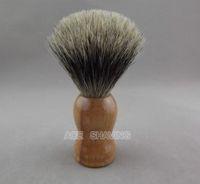 badger hair knot - Beech Wood Handle Pure Badger Hair Shaving Brush Knot size mm