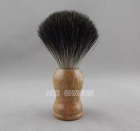 Wholesale Rubber Wood Handle Black Badger Hair Shaving Brush Knot size mmRubber Wood Handle Black Badger Hair Shaving Brush