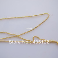 Black mda - MDA meters bag Gold Chain Shape Metal Nail Decoration Lovely Outlooking Nail Art Decorations