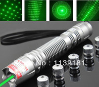 Green Yes Yes Wholesale-20000mw 532nm Fixed Focus Green Laser Pointer Laser Torch Flashlight 5 MILES RANGE MILITARY GRADE