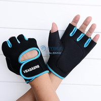 Wholesale 2014 fallGym Body Building Training Fitness Gloves Sports Weight Lifting Exercise Slip Resistant Gloves For Men And CPW Women