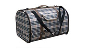 Wholesale 2014 Fashion Travel Folding Pet Portable Dog Carrier with Strap Outdoor Crate Cage Kennel Fedex
