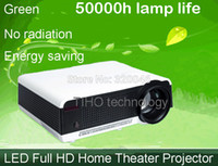 Wholesale 1080P Wifi PROJECTOR Lumens HDTV FULL HD P LED PROJECTOR D MULTIMEDIA HOME THEATER PROJECTOR