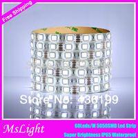 Wholesale W M M RGB LED Strip waterproof IP65 leds M Warm White White Blue Green Red Neon V Led Strip Lights Led tape