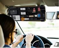 Wholesale New Cocoon Grid It Mobil Sun Visor Organizer Storage Untuk Pen Phone Charger Kotak it Bag Untuk Mobil