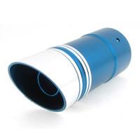 Wholesale 5 cm Dia cm Length Exhaust Pipe Silencer Muffler Blue for Car