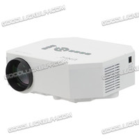 Wholesale Unic UC30 Multi media HD Portable P LED Projection Micro Projector White