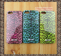 For Apple iPhone Silicone Case Free Shipping high quality cell phone cover Skin for iphone 4 protective case silicone TPU soft rubber leopard print cover case