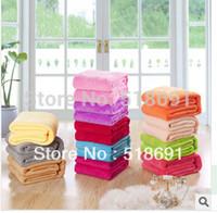 Microfiber Fabric wool blanket - Blanket thickening coral fleece wool blanket FL carpet air conditioning blanket sierran blanket bed sheets