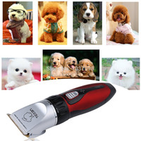 Bathing Products Dogs Pet Dog Cat Animal Hair Trimmer Grooming Wholesale-Professional Pet Hair Trimmer Clippers Grooming Clipper Shave +4 Piece Comb Kit Set for Pet Grooming - Dogs   Cats   Rabbits