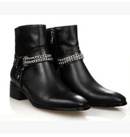 High Quality 2014 Women Flats Ankle Boots Gennuine Leather Motorcycle