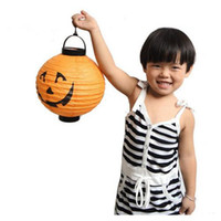 halloween bat - Halloween Decorations LED Pumpkins Lantern Jack Skeletons Spiders Bats Haunted House Bar Party Props Supplies Gift For Kids HKG1