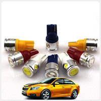 Wholesale DC12V pair T10 W5W W LED Auto Bulbs LED Car Lights Car Lamps with metal shell clearance lights