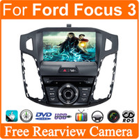 analog tuner - Car DVD GPS Player For Ford Focus For C MAX S MAX Radio RDS Stereo car navigation Analog TV Free Map Russia Menu