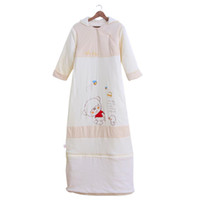 Yes Character Cotton,Modal for shipping The new autumn and winter sleeping bags, infant stereo speaker type lengthened growing big boy pajamas nightgown