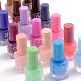 Wholesale 8 Piece Candy Color Hot selling nails Enamel seconds quick dry nail polish