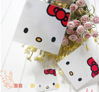 Self Adhesive Seal baking cake - Hello Kitty Cookie packaging self adhesive plastic bags for biscuits candy cake snack bags baking package gift bag cm cm