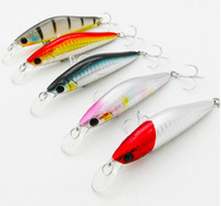 Wholesale 100pcs New arrival Top quality cm g Fishing Lure Hard Bait spinner bait minnow fishing lures Fishing Tackle Popper crank