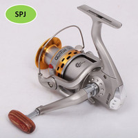 Yes Spinning Luk High quality, Luk SG6000A High power Bear Spinning Spool Fishing Reel with high-end wood handle, fishing reels