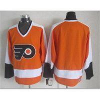 Wholesale flyers Blank Throwback Hockey Jersey Athletic Jerseys New Style Outdoor Uniform Brand Sports Apparel Hot Sale Cheap Hockey Uniform