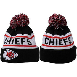Wholesale Chiefs Beanie Hats Top Quality Football Caps Knitted Hats for Men Women New Design Skullcaps Fashion Sports Beanies Casual Outdoor Beanies