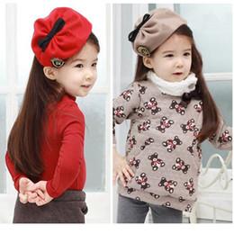 Wholesale Baby Children Kids Hairband Beret Hat Headwear College Style Hair Wear Years Drop Shipping