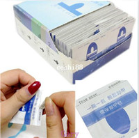 Wholesale 200 Nail Gel Lacquer Polish Foil Remover Wraps with Acetone UV Removable Special Environmental Protection Armor Package