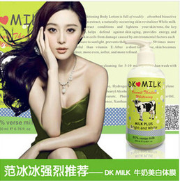 Wholesale Thai DK MILK film body fast whitening whitening film Milk Body Lotion genuine security
