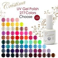 color nail gel - Choose Colors In Cristina Soak Off UV Gel Nail Polish Temperature Gel Luminous Acrylic Nail Kit Color