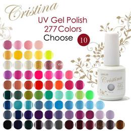 Wholesale Choose Colors In Cristina Soak Off UV Gel Nail Polish Temperature Gel Luminous Acrylic Nail Kit Color