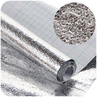 Graphic vinyl PVC Animal thicken waterproof moisture-proof cabinets aluminum foil sticker table drawer mat oil from kitchen foil sticker