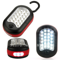 Wholesale LED Work Light Hook Flashlight with Magnet and Light Modes Perfect for Car Picnic Camping