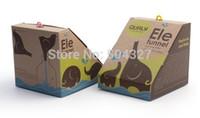Wholesale EMS Pieces Qualy Creative Little Elephant Style Kitchen PE Funnel Ele Funnel
